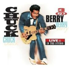 CHUCK BERRY - LIVE & IN THE STUDIO 3 CD NEW+