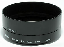 NIKON HN-26 72mm Metal Lens Hood for ORIGINAL Nikon 62mm Circular Polar Filter