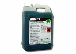 Clover Comet Extraction Carpet Cleaner Floor Detergent Shampoo Cleaning 5Ltr 306