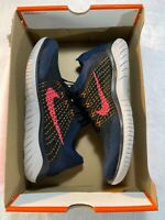 Nike Free RN Flyknit 2018 'Flash Crimson' Running Shoe Men's sz 10 (942838-068)