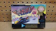 F-Zero for Super Nintendo SNES Factory Sealed NEW!