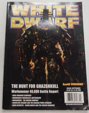 White Dwarf Magazine The Hunt For Ghazghkull No.260 103114R