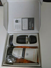 Clarisonic Alpha Fit Men's Cleansing w/ 6oz Cleanser &1 Brush Heads NEW IN BOX