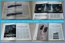 Audi 100 C4 2.8 E mit 174PS Literaturpaket - 13 komplette Zeitschriften