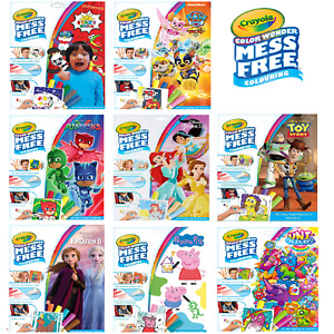 Crayola  Mess Free Colour Wonder with Various Themes and Characters for Children