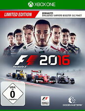 F1 2016 - Limited Edition (Microsoft Xbox One, 2016)