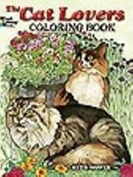 THE CAT LOVERS' COLORING BOOK - NEW PAPERBACK BOOK