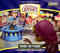 NEW Taking the Plunge #59 Adventures in Odyssey 2 Audio CD Vol Set AIO Wooton