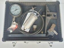 SKF 729101E Huile Injection Kit Injecteur Avec Tuyau & Jauge 43500 Psi/3000 BAR
