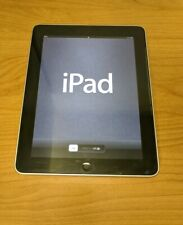 Apple iPad 1st Gen. 16GB, Wi-Fi, 9.7in - Black - with Apple Folio Case
