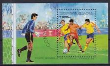 Guinea Fußball Frankreich Block 1998, gest., soccer, used