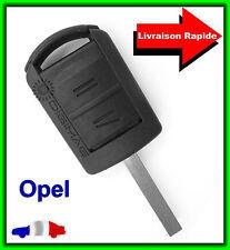Coque Clé Télécommande Plip Opel Corsa Agila Meriva + Lame vierge