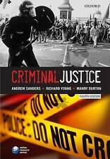 Criminal Justice by Mandy Burton, Richard Young, Andrew Sanders (Paperback, 2010)