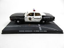 Dodge Monaco Police - James Bond 007 - 1:43 Voiture Model Car DY055