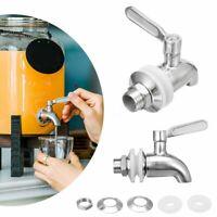 Stainless Steel Faucet Tap Beverage Dispenser Bar Water Drink Wine Barrel  H