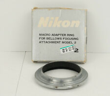 Nikon BR2 Macro Reversing Camera Ring With Box