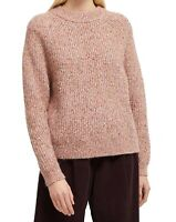 French Connection Womens Sweater Pink Size XS Suvia Crewneck Knitted $128 812