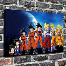 Dragon ball z moon Painting HD Print on Canvas Home Decor Wall Art Pictures