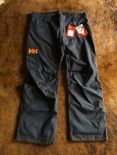 NWT Men's Helly Hansen Sogn Cargo Pant Color Graphite Blue Size 2XL