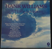 HANK WILLIAMS - HOME IN HEAVEN 1975 MGM RECORDS 2315 345 AUSSIE VINYL