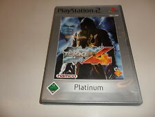 PlayStation 2  PS 2  Tekken 4 [Platinum]