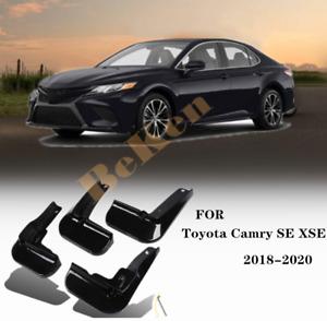 For 2018-2021 Toyota Camry SE XSE black Splash Guards Mud Flaps Mud Guards 4x