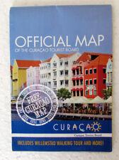 Curacao, Dutch Caribbean Island -  Official Map
