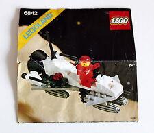 Lego Legoland  6842 aus dem Jahr 1981 Bauanleitung gebraucht ohne Steine 49