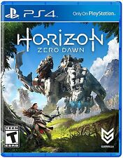 Horizon Zero Dawn - PlayStation 4 PS4 (Sony PlayStation 4, 2017) NEW