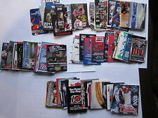 Large Lot of 175 Sport Schedules Skeds Baseball Hockey Racing College Football