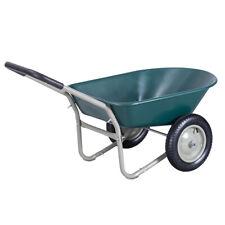 2 Tire Wheelbarrow Garden Cart Heavy-duty Dolly Utility Cart Outdoor