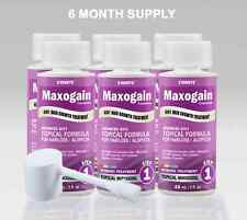 6 Month Womans Maxogain Hair Regrowth Topical 4in1 Active Minoxidil DHT Nutrient