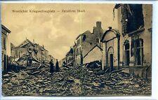 CP Militaria - Guerre 14-18 - Weqtlicher Kriegsschauplatz - Zerstörte Stadt