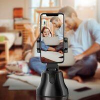 Auto Tracking Smart Shooting Phone Holder Face Selfie Stick Vlog Camera 360 USa