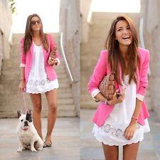 Zara Polyester Button Coats & Jackets for Women Blazer