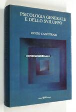 Renzo Canestrari PSICOLOGIA GENERALE E DELLO SVILUPPO 1988 CLUEB