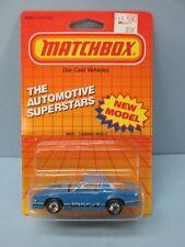 MATCHBOX Superfast51G Camaro IROC Z-28 Blue / IROC Side Stripe / Blister