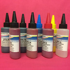8X100ml Pigment Ink Bottle Epson Stylus Photo R1900 R 1900 Premium Inks Ink-Girl