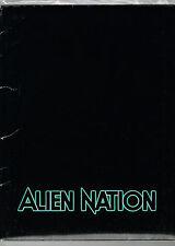 ALIEN NATION 1988 ORIGINAL MOVIE PRESS KIT JAMES CAAN MANDY PATINKIN