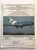 Braniff International BISE Employee Newsletter Rare Collectible 2009 Pilot