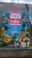 Andy Mangels Star Wars The Essential Guide To Characters Book