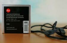 Leica 18681  black neck wrist  Strap for C-LUX  and D-LUX Cameras or similar