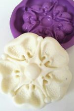 TUDOR ROSE 48 mm Silicone Mould Flower Sugarcraft Fondant Icing Chocolate Fimo