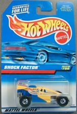 Hot Wheels 1997 Diecast Coll. #700 Shock Factor Yellow & Blue  19145