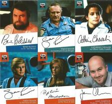 The Lost Worlds of Gerry Anderson Lot 6 Autograph Cards, Blessed Sylvia Anderson