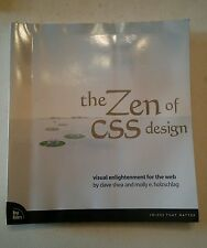 001 The Zen of CSS Design : Visual Enlightenment for the Web by Molly E