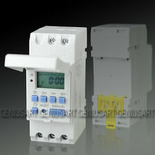 THC15A Digital LCD Weekly Programmable Timer AC 220V 16A Time Relay Switch New