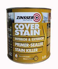 Zinsser Cover Stain Int & Ext Primer Sealer 2.5lts