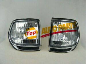 Turning Signal Park Lights  Housing Clear Fit for Land Cruiser FJ80 4500 Corner