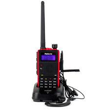 Retevis RT5 Walkie Talkie 7W Dual Band UHF+VHF 128CH Scan 1750Hz Two Way Radios
